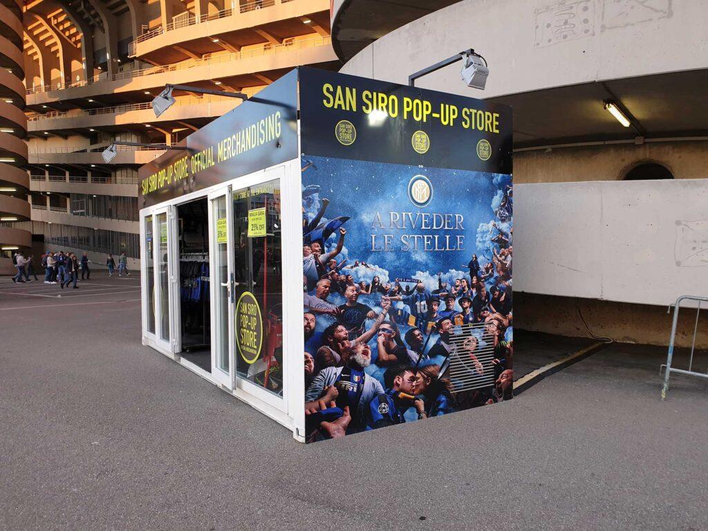 Container Stadio San Siro Inter