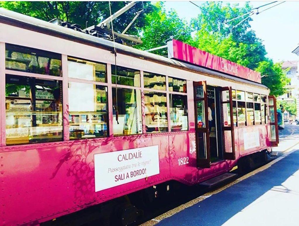 Evento Tram Caudalie Milano